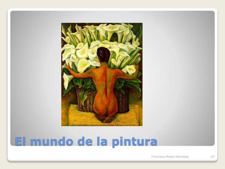 El mundo de la pintura