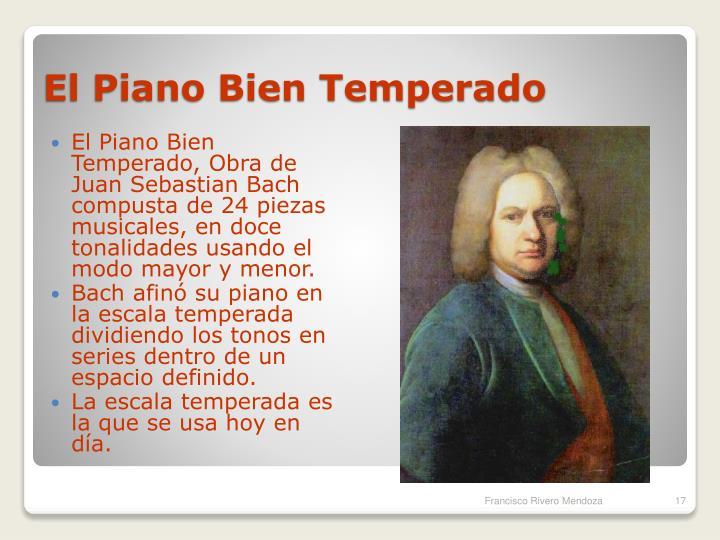 El Piano Bien Temperado