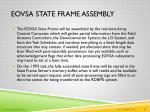 eovsa state frame assembly