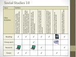 social studies 102