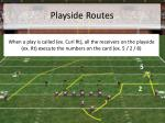 playside routes