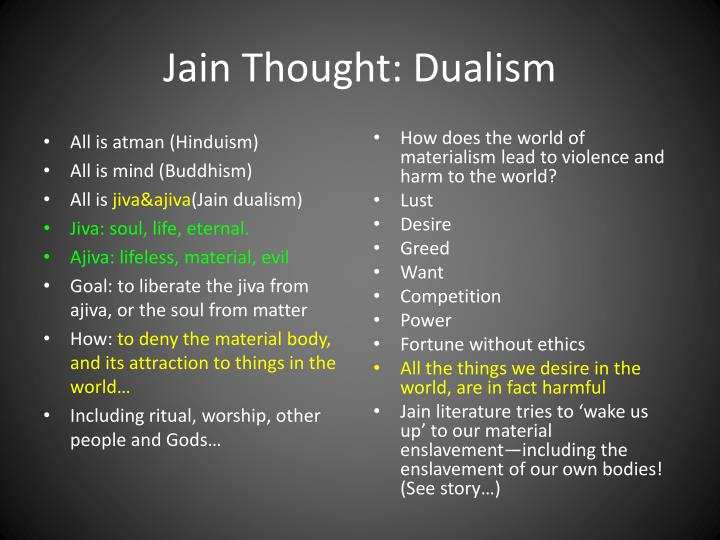 Jain Thought: Dualism