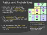 ratios and probabilities1