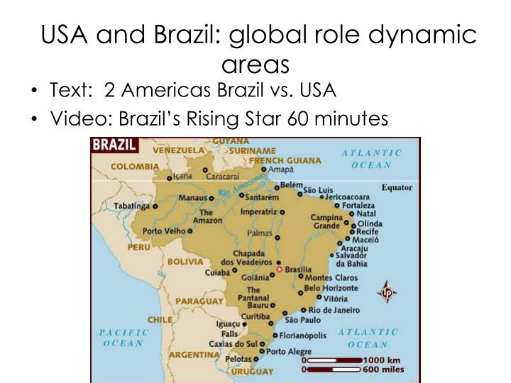 usa and brazil global role dynamic areas n.