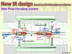 new ir design based on the nano beam scheme3