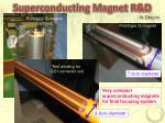 superconducting magnet r d