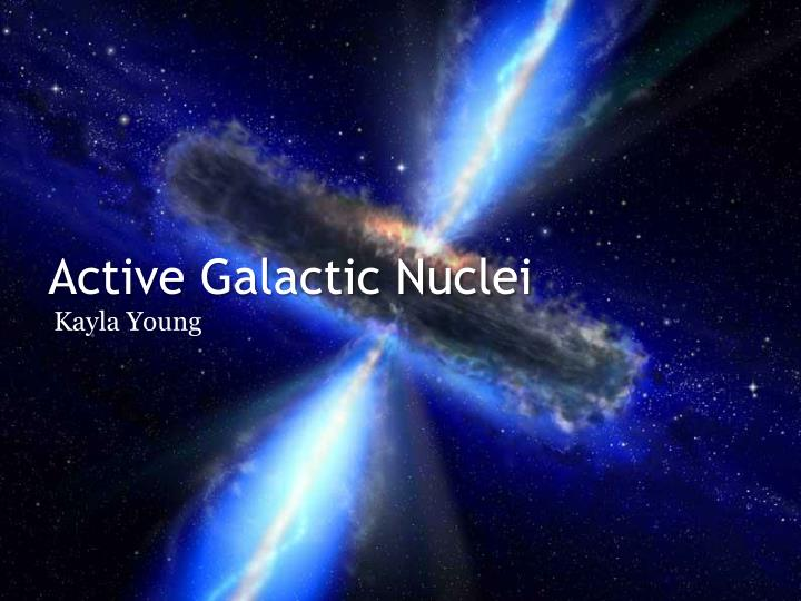 active galactic nuclei n.