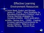 effective learning environment resources2