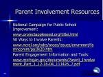 parent involvement resources2