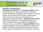 connections among the crosscutting concepts1