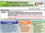 crosscutting concepts 3 scale proportion and quantity