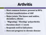 a rthritis