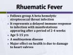 rhuematic fever