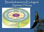 bronfenbrenner s ecological systems theory