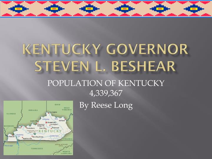 kentucky governor steven l beshear n.