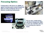 focusing optics