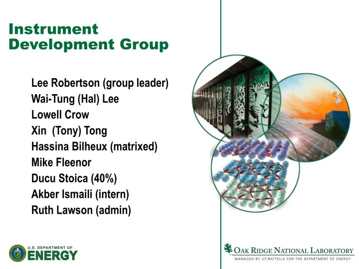 instrument development group n.