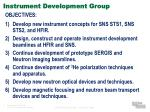 instrument development group2