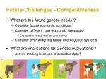 future challenges competitiveness