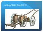 jethro tull s seed drill