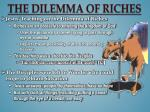 the dilemma of riches2
