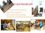 art and handicraft