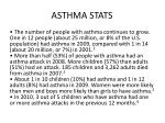 asthma stats