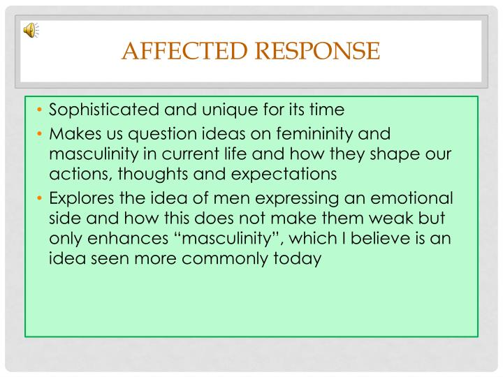 Affected Response