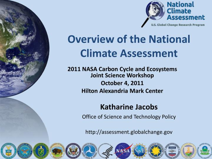 overview of the national climate assessment n.