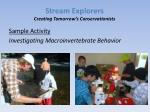 stream explorers creating tomorrow s conservationists6