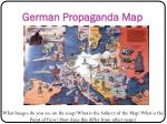 german propaganda map