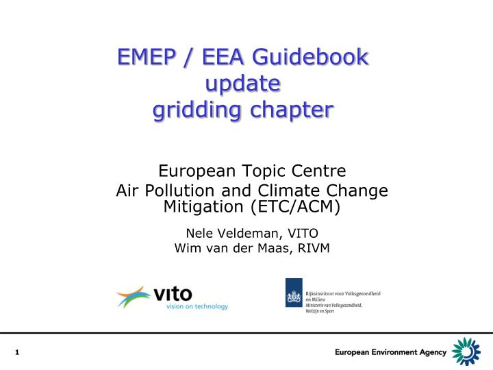 emep eea guidebook update gridding chapter n.