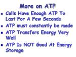 more on atp