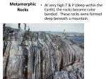metamorphic rocks1