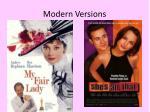 modern versions