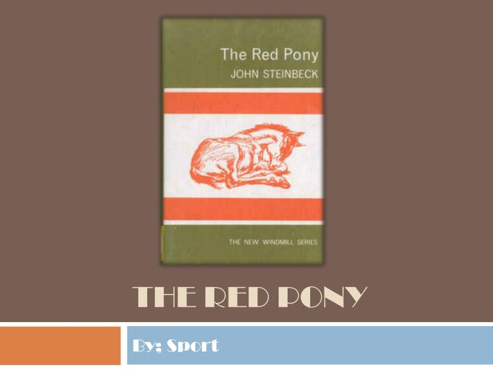 the red pony n.