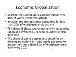 economic globalization1
