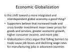 economic globalization5