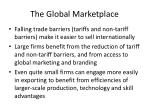 the global marketplace2