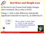 red wine and weight loss3