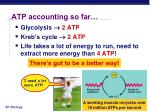 atp accounting so far