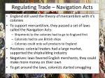 regulating trade navigation acts