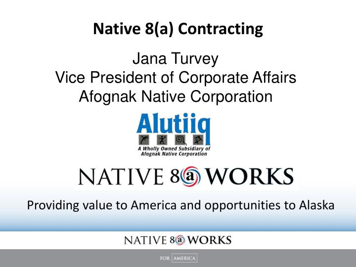 native 8 a contracting n.