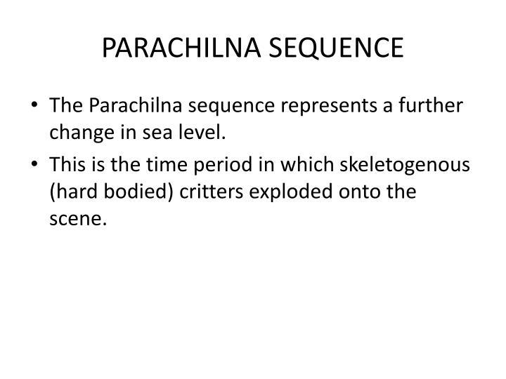 PARACHILNA SEQUENCE
