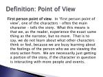 definition point of view1