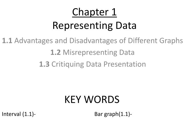 chapter 1 representing data n.