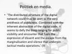politiek en media4