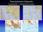 pennsylvanian deposits cyclothems trangressive cycles1