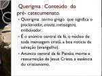 querigma conte do do pr catecumenato