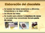 elaboraci n del chocolate1